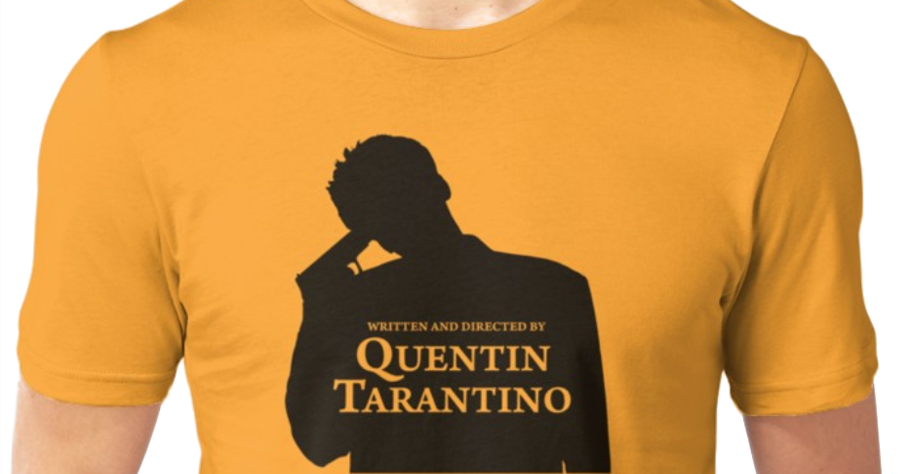 ef34d8c48 Written and directed by Quentin Tarantino T-shirt | Quentin ...
