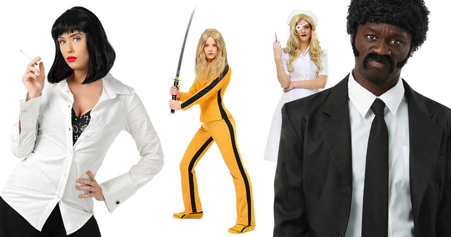 Pulp Fiction And Kill Bill Costumes For Halloween Quentin